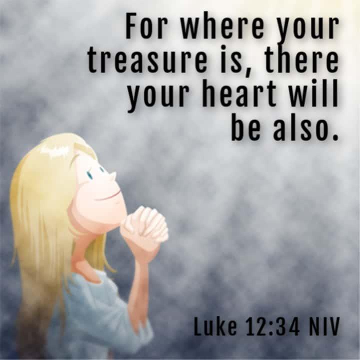 Don't Worry - Treasure in Heaven) Luke 12:22-34