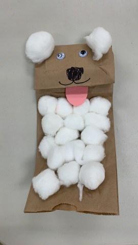 Sheep Puppet - Sunday School Craft
