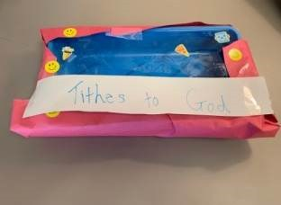 Tithes to God Bible Craft for Sunday School