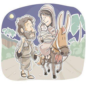 Mary and Joseph (The Birth of Jesus) Sunday School Lesson