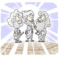 Jesus-is-transfigured-Sunday-School-Lesson-from-Matthew-17