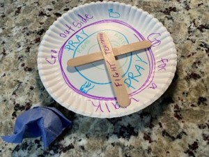 sunday school crafts on temptation of Jesus