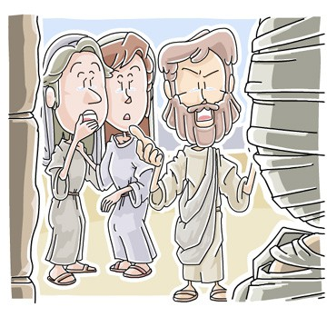 Children's Message: Jesus raised Lazarus to Life