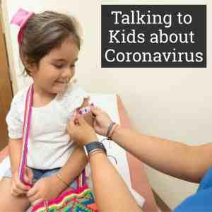 talking to children about coronavirus covid19