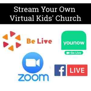 Stream your own virtual kids' church