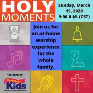 Holy Moments by Cokesbury Children's Church