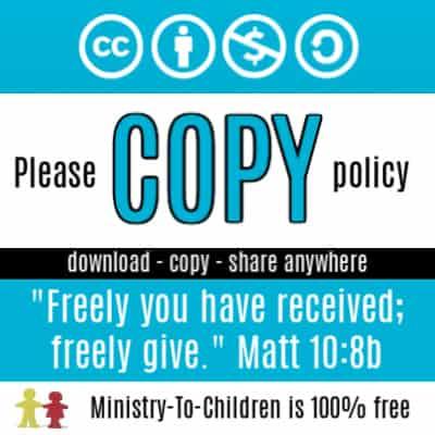 free children's ministry materials