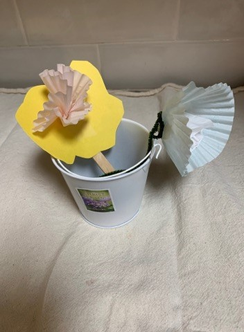 "Craft one: ""Easter Flower Garden"""