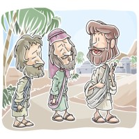 Bible Study for Kids - Jesus on the Road to Emmaus