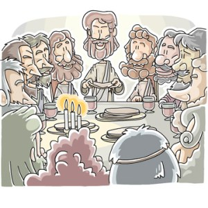 Good Friday Last Supper Lessons
