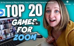 zoom games for children's ministry