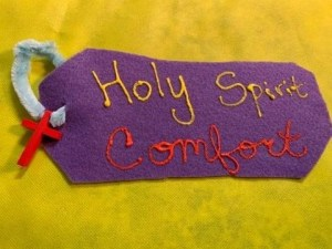 "Craft one: ""Comfort Reminder Roll"""