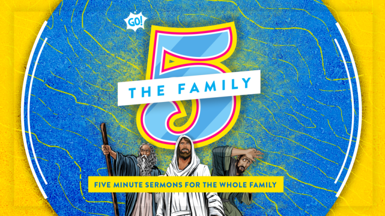 """The Family 5"" Creative New Sermons for Kids from Go! Curriculum"