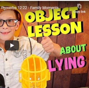 children's sermon on lying
