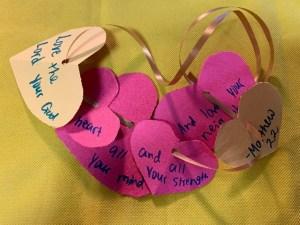 love god Bible crafts for kids