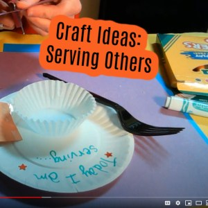 Serving Others - Sheep and Goats - Sunday School Crafts