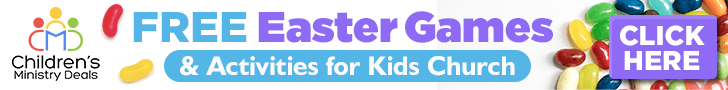 Free Easter Games for Children's Ministry