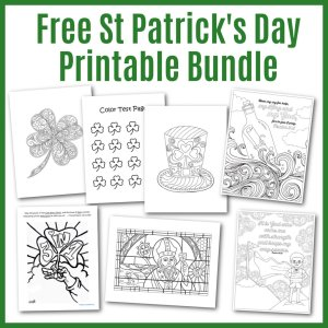 St Patrick's Day Coloring Pages for Kids