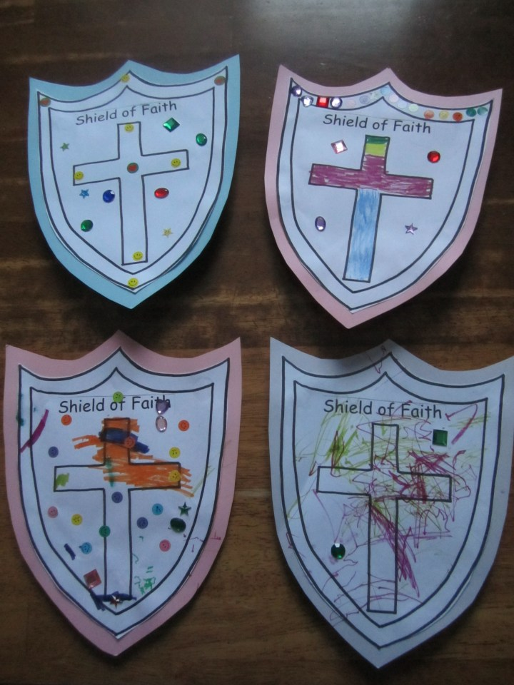 Shield Of Faith Craft Ministry 2 Kids