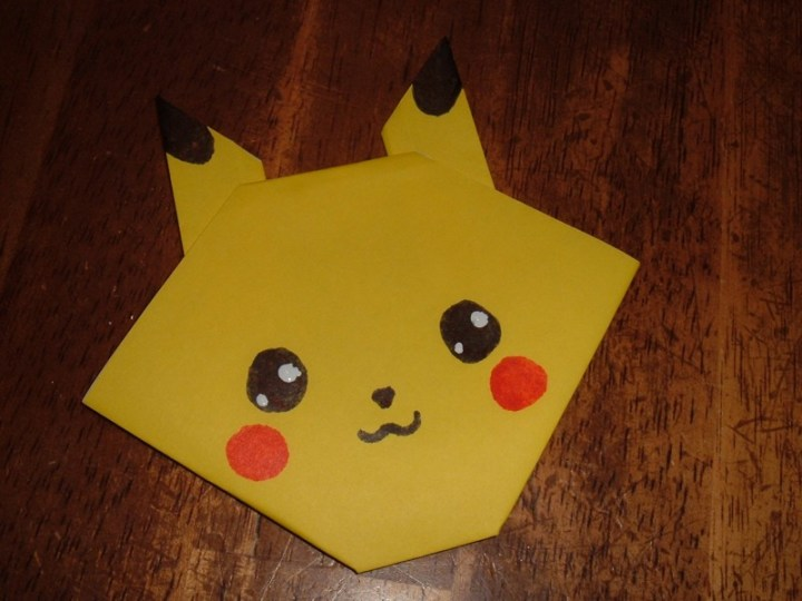 The Directions For This Cute And Easy Pikachu Are Here Use Rabbit Instructions How To Decorate It I Suspect That Any Child Who Is Into