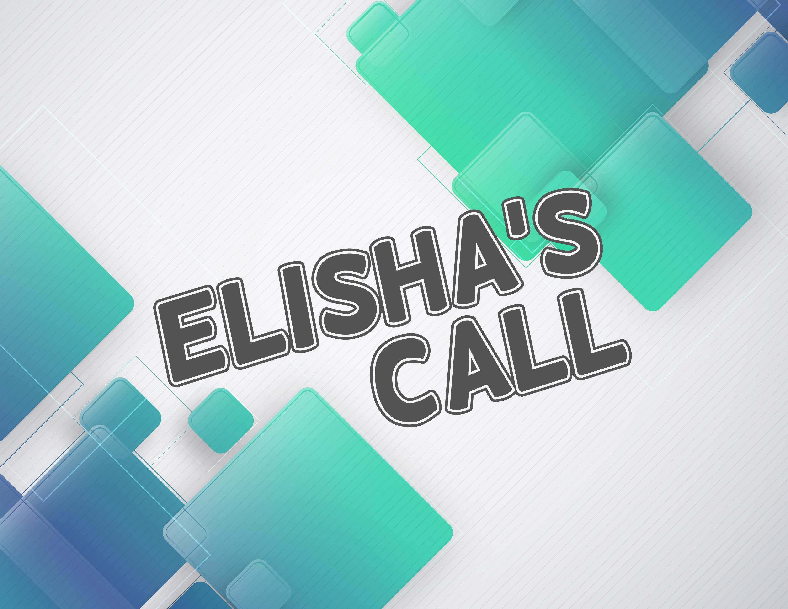 Elisha S Call Sunday School Lesson 1 Kings 19 19 21