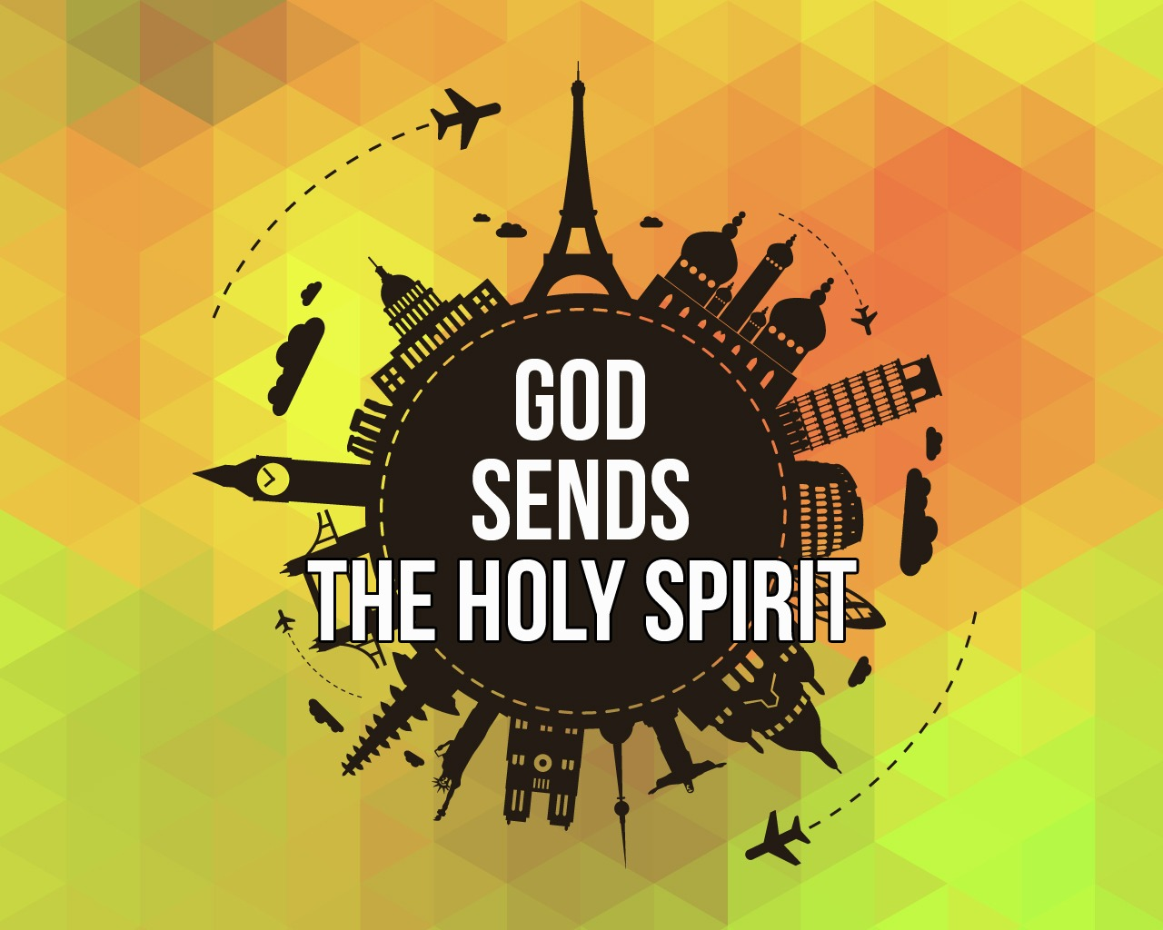 God Sends The Holy Spirit Sunday School Lesson Acts 2 1