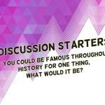Discussion Starter Background Stills