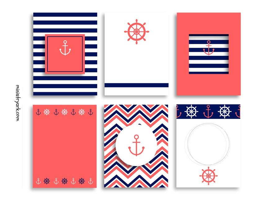 Sailor Bible Journaling Cards