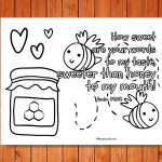 'Sweeter Than Honey' Printable (Psalm 119:103)