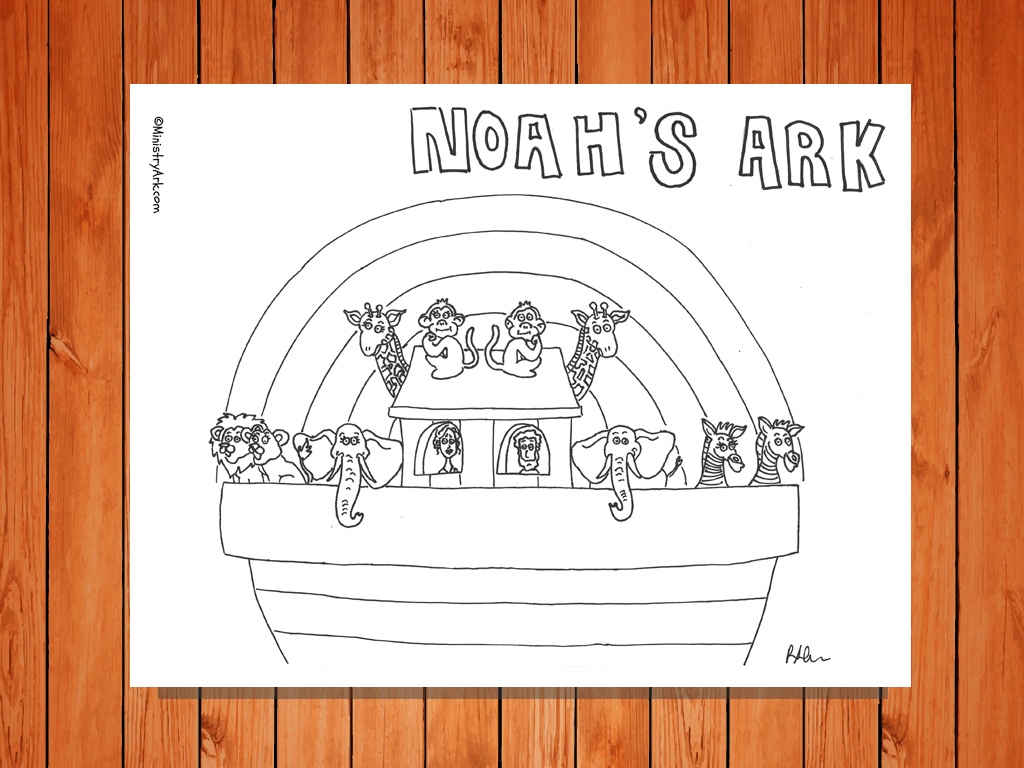 Noah S Ark Printable Ministryark
