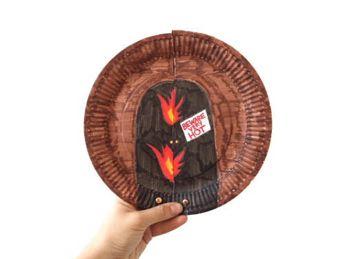 shadrach meshach and abednego paper plate craft � ministryark