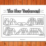 'The New Testament Bookcase' Printable