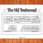 'The Old Testament Bookcase' Printable