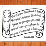 'For I Know the Plans' Printable (Jeremiah 29:11)