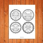 'Back to School' Badges Printable