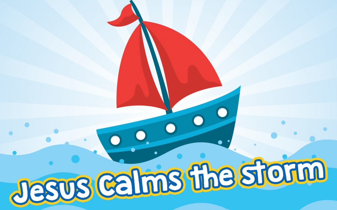 Jesus Calms The Storm Childrens Lesson Mark 435 41 MinistryArk