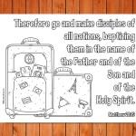 'Go and Make Disciples' Matthew 28:19 Printable