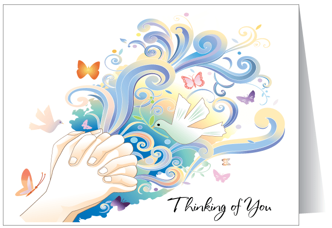 Thinking Of You Greeting Card 3595 Ministry Greetings