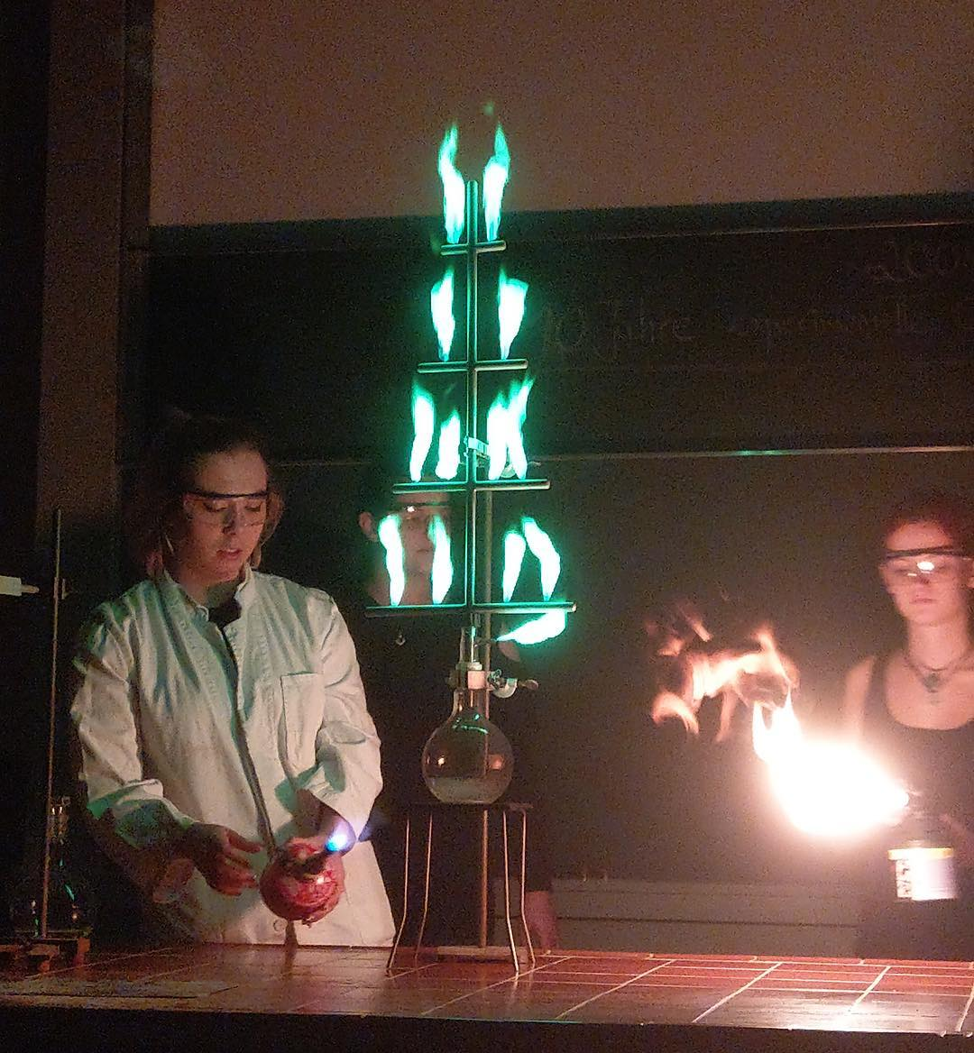 One hot Chemistree