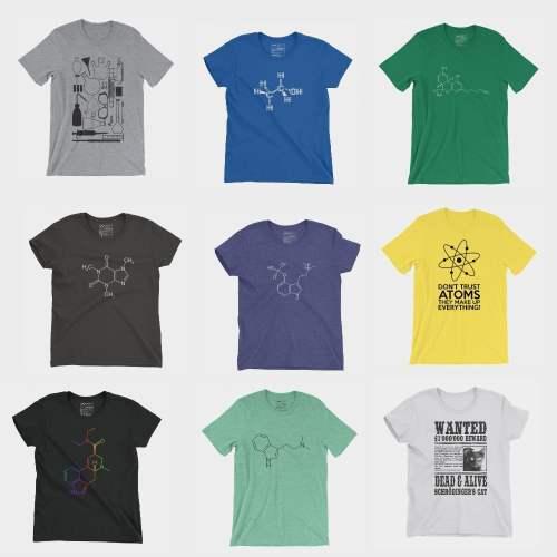 T-Shirts Molecule Store