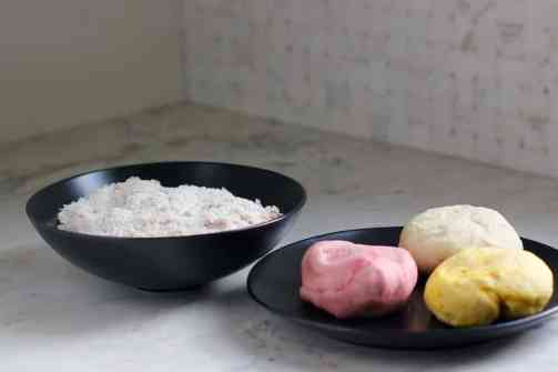 colored dough