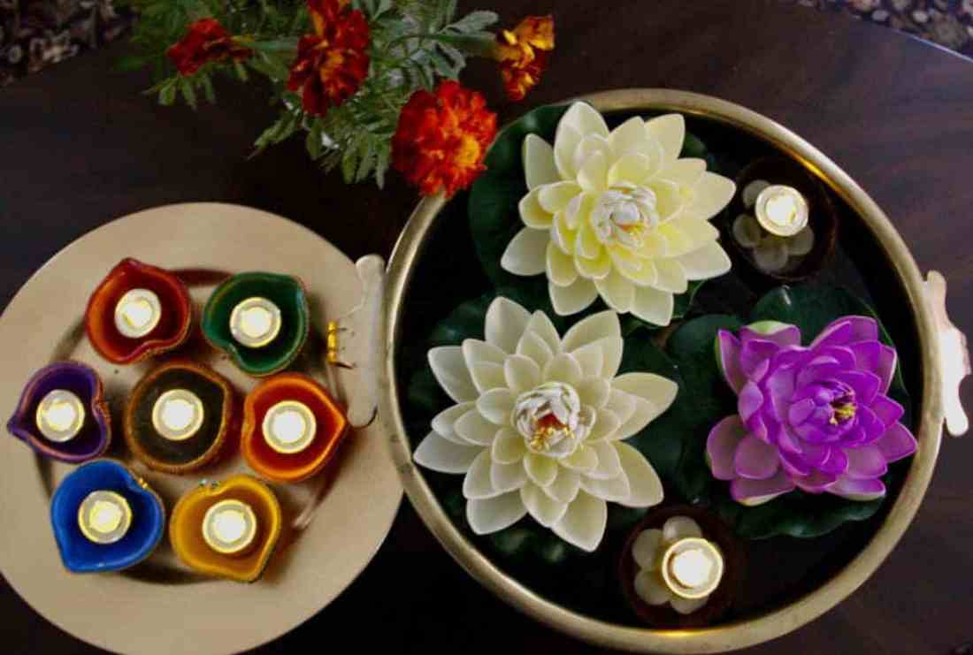 Diwali celebrations - decorations