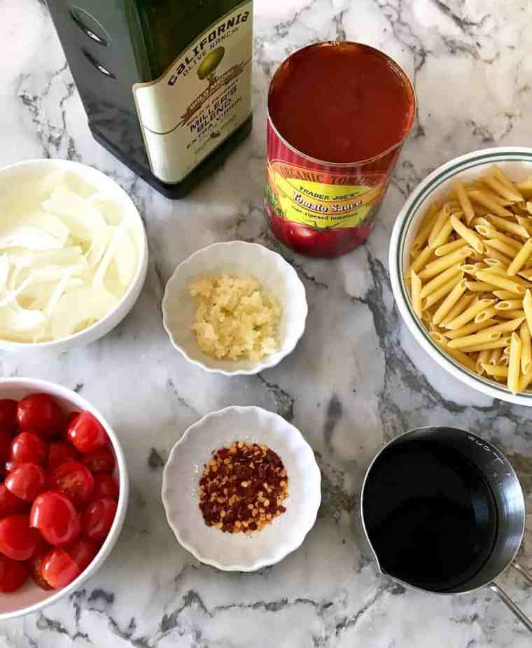 pasta caprese ingredients