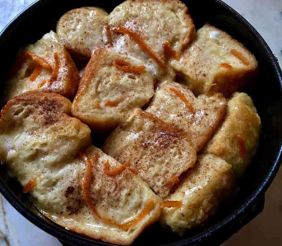 french toast bread pudding instant pot