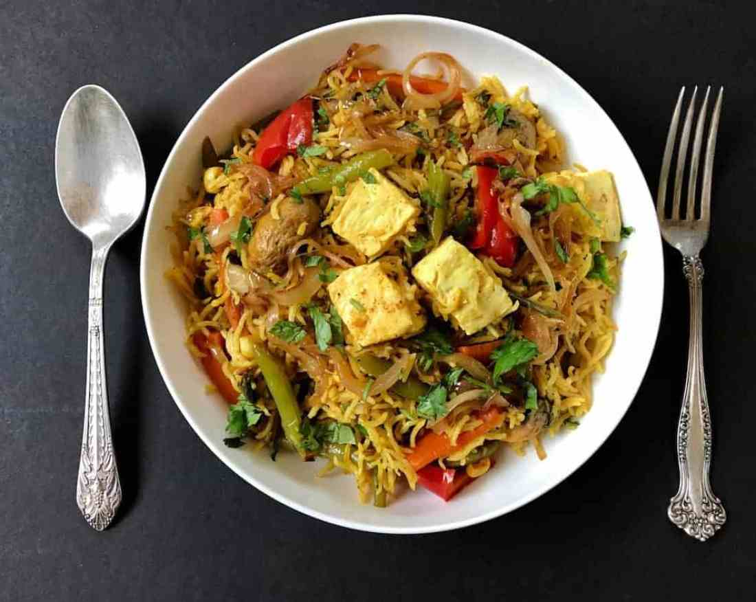 Vegetable and paneer biryani instant pot ministry of curry vegetable and paneer biryani forumfinder Images