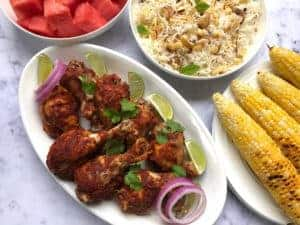 tandoori chicken - instant pot