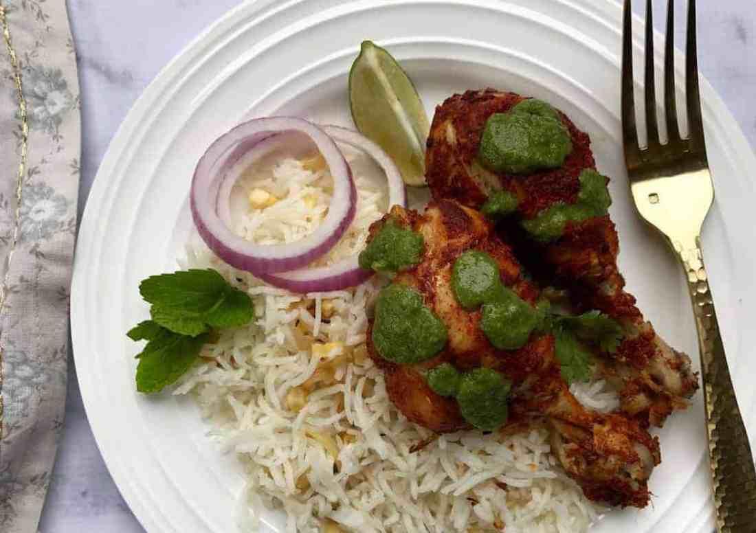 Tandoori Chicken - Instant Pot