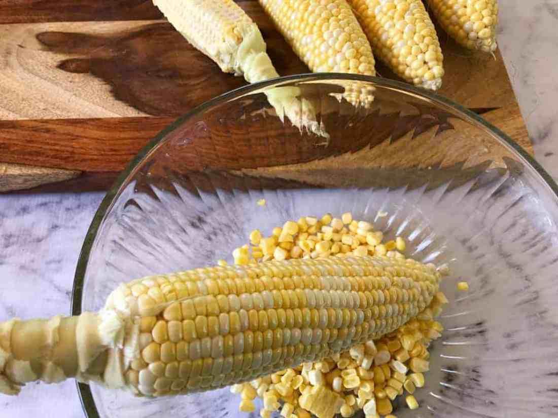 Corn Poblano Chowder