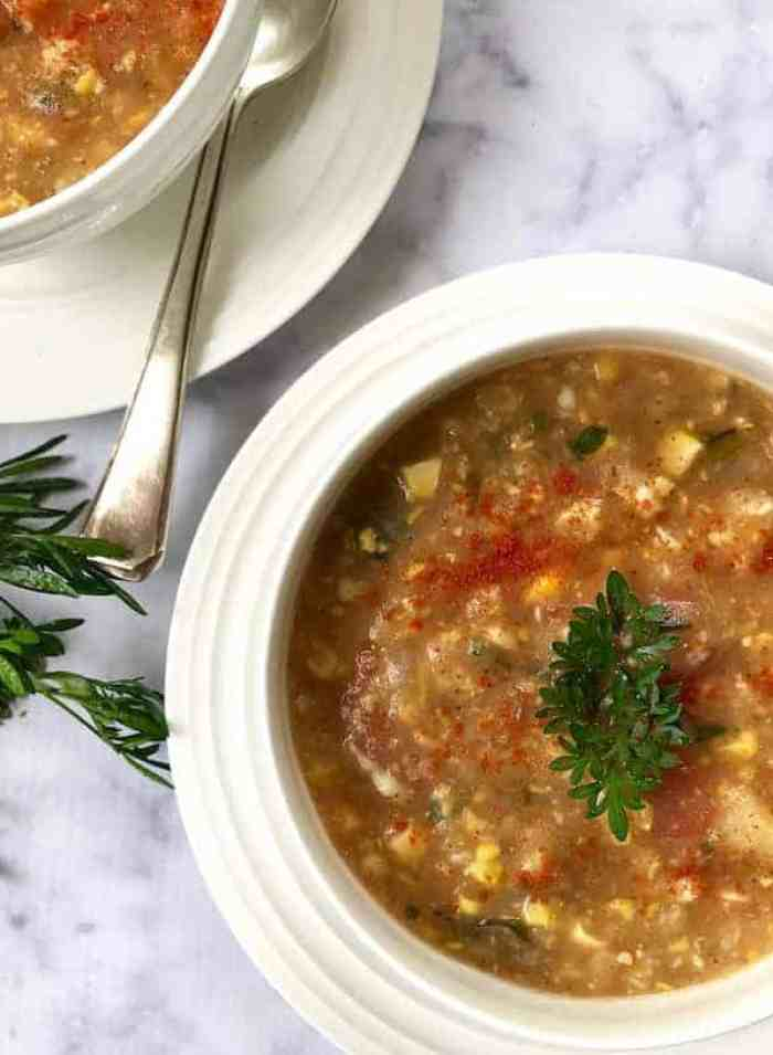 Corn Poblano Chowder – Instant Pot