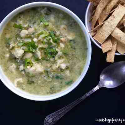 Quick White Chicken Poblano Chili – Instant Pot
